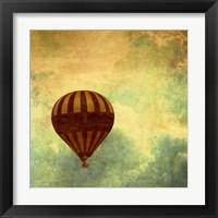 Framed Air Balloon Ride