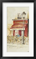 Framed Cafe Du Paris Panel I