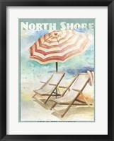 Shore Poster II Framed Print