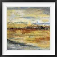 Silver River II Framed Print