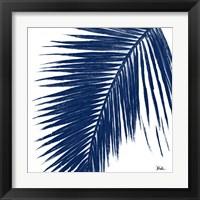 Framed Indigo Baru Palm I