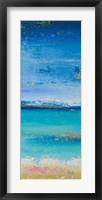 The Sea Panel I Framed Print