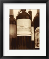 Framed Wine Bottles II