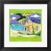 Framed Beach-Front Cottage