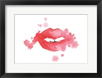 Framed Lip Splash