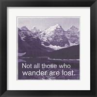 Framed GO Wander