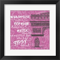Framed New Paris Pink 2