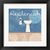 Framed Replenish Sink