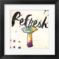 Framed Refresh Colorful Sink