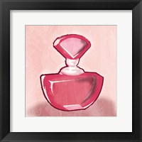 Framed Pink Perfume Mate