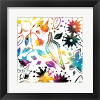 Framed Colorful Florals