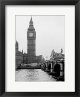 Framed London Big Ben