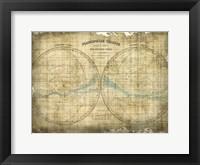 Framed Constellation Map 1
