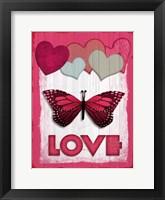 Framed Valentines Day Love