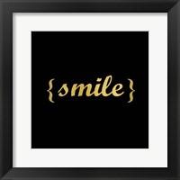 Framed Smile