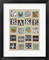 Framed Bake Tiles