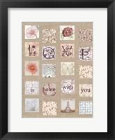 Framed Love Tiles