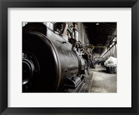 Framed Train Yard