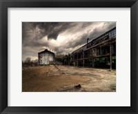 Framed Ancient Train Yard 1