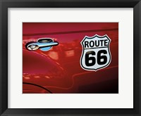 Framed Classic Route 66
