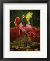 Framed Flamingo Fairy 82390