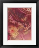 Framed Marooned Florals D