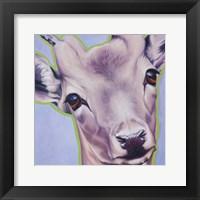 Framed Lilac Deer 82490