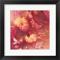 Framed Crimson Collage 2