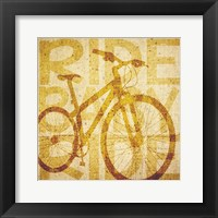 Framed Bike Canvas 1