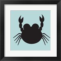 Framed Crab Cutout