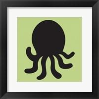 Framed Octopus Cutout