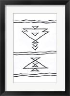 Framed Angular Tapestry 1