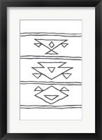 Framed Angular Tapestry 3