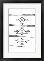 Framed Angular Tapestry 4