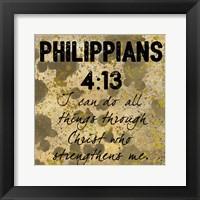 Framed Christ Strength