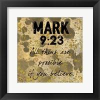 Framed Possible Belief
