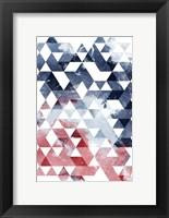 Framed Americana Triangles