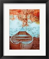 Framed Caddo Canoe