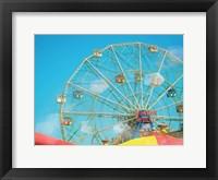 Framed Coney Island Afternoon
