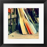 Framed Caddo Canoes 2