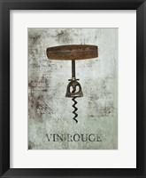 Framed Vin Rouge Wine 2