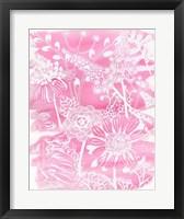 Fuchsia Bouquet II Framed Print
