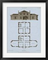 Framed Chambray House & Plan I