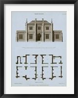 Framed Chambray House & Plan V