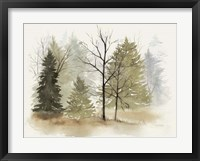In the Mist I Framed Print
