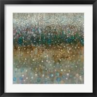 Framed Abstract Rain