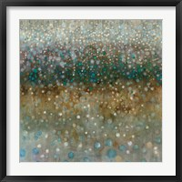 Framed Abstract Rain