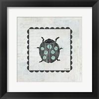 Framed Ladybug Stamp