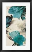 Blue Ribbon Blooms II Framed Print