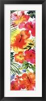 Jungle Tropics I Framed Print